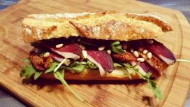 Sandwich Périgourdin de la Bayardine